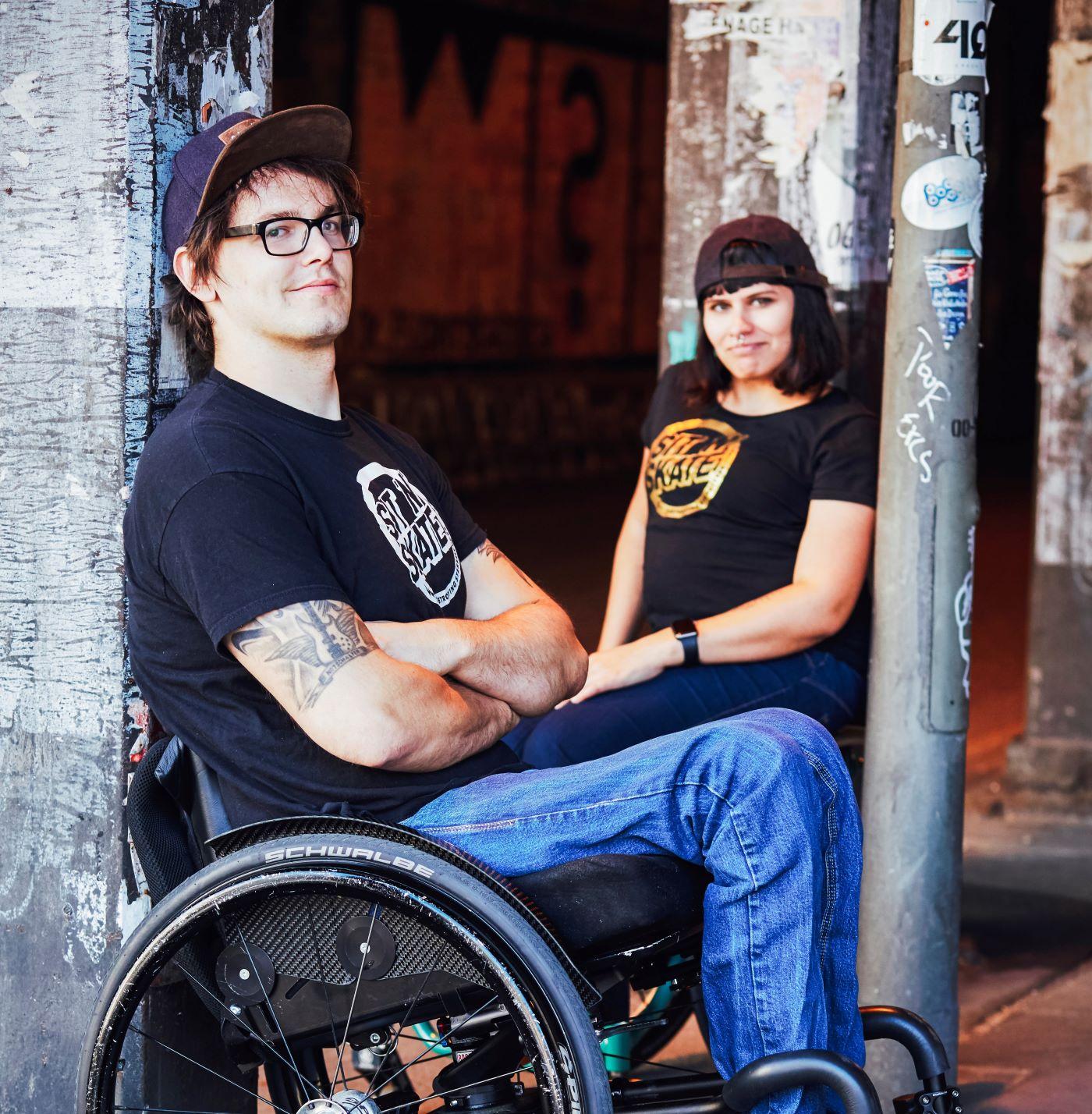 Lisa Schmidt & David Lebuser von sit'n'skate.