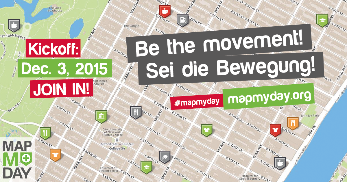#MapMyDay – People worldwide are part of a movement for more accessibility