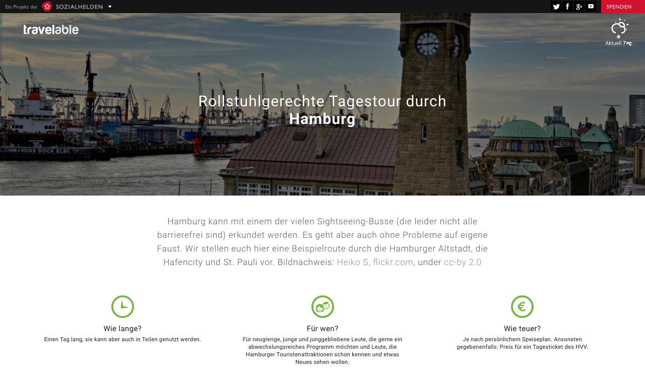 Tagestour Hamburg auf Travelable.info