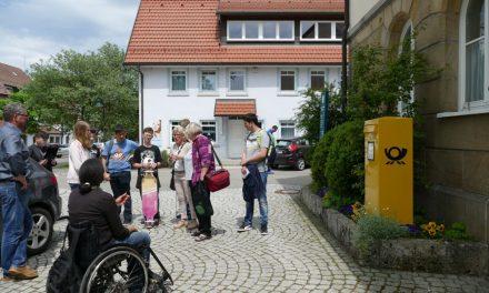 Mapping im Mai – Schulaktion, Rundgang und Kneipentour in Süddeutschland