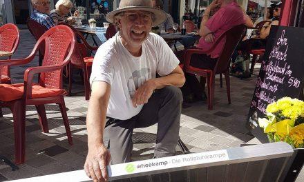 Winfried Hoffmann – Wheelmap-Botschafter im Saarland