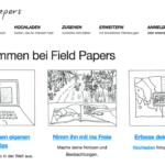 """""""Field Papers"""" – Mapping mit Stift und Zettel"""