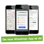 Hurra, die neue Wheelmap-App ist da!