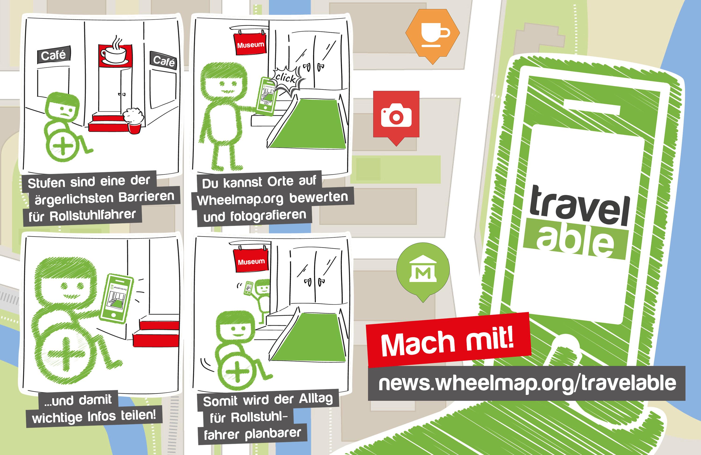 TravelAble – Werde Teil der Kampagne für barrierefreies Reisen!