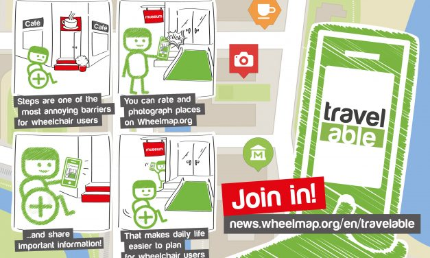 Get involved with Wheelmap.org!