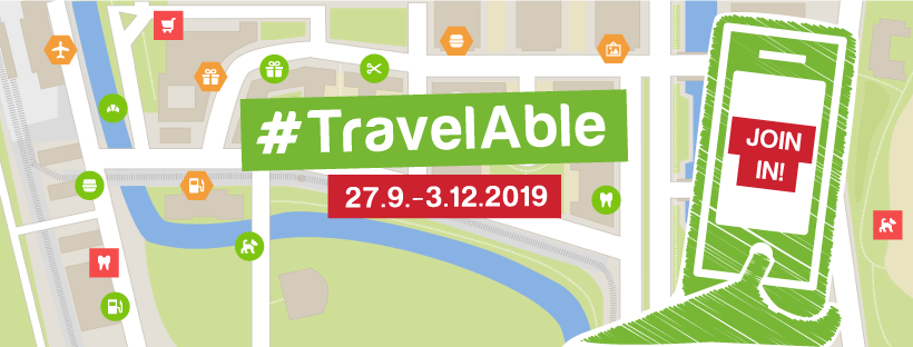 Join  #TravelAble - Register an Event and get ready for Mapping
